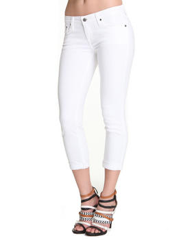 Big Star - Remy Skinny Cropped Denim w/ Star Pckt