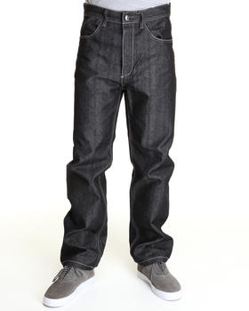 MO7 - Mo7 back stitch pocket denim jeans