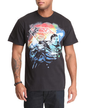 Graf-X Gallery - Neon Superman Tee