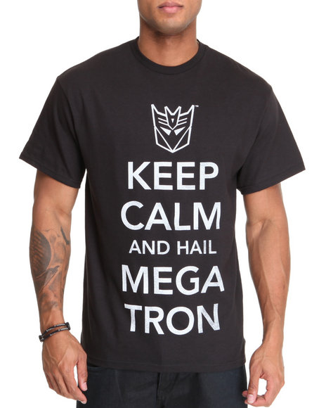 keep calm mega tron tee
