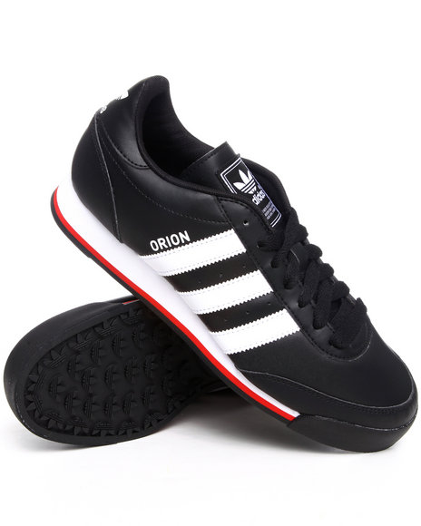 Adidas Black Orion 2 Leather Sneakers