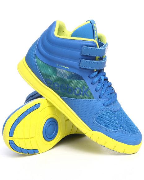 Reebok Women Blue Dance Urlead Mid Sneakers