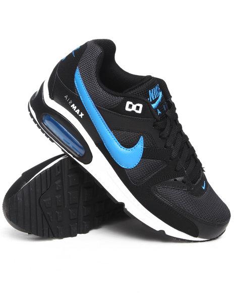 Nike Men Black Air Max Command Sneakers