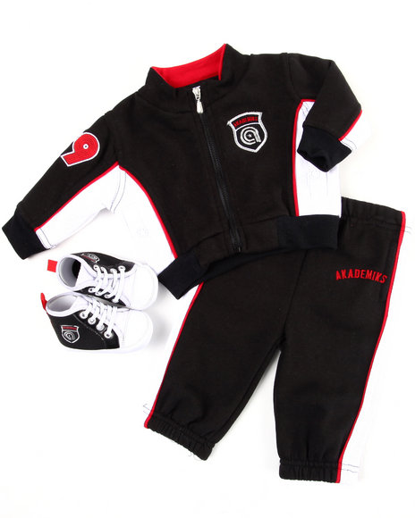 3 pc track suit w/ shoe (newborn)