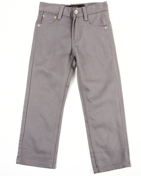 Akademiks Boys Grey Bull Denim Jeans (4-7)