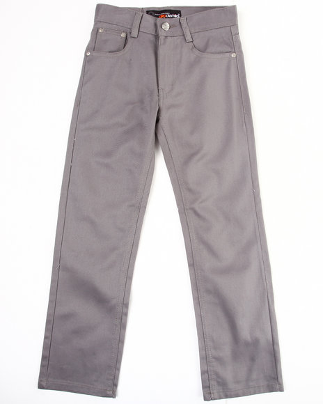 Akademiks Boys Grey Bull Denim Jeans (8-20)