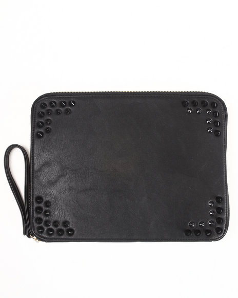 Fashion Lab Women Utility Tablity Holder Black - $15.99