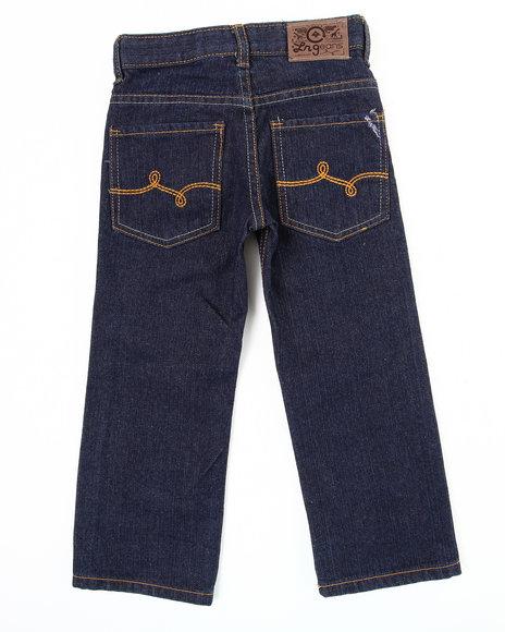 LRG Boys Dark Wash Naturalist Straight Fit Jean (4-7)