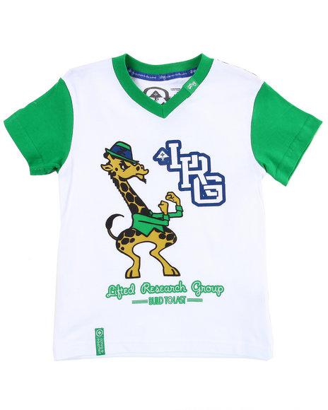 LRG Boys Green Play Like Champions Tee (2T-4T)