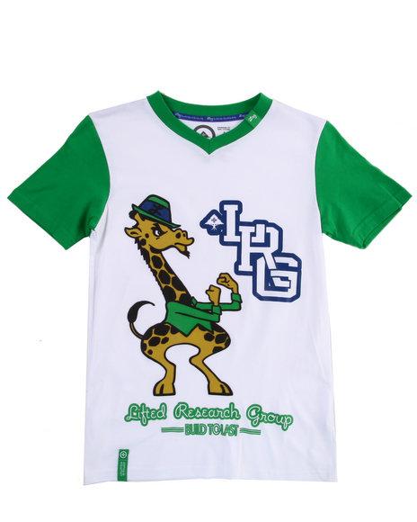LRG Boys Green Play Like Champions Tee (8-20)