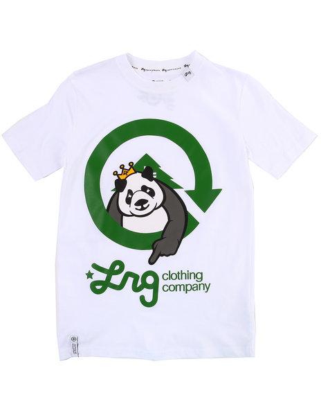 LRG Boys White The Homeboy Panda Tee (8-20)
