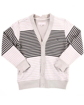 LRG - STRIPED CARDIGAN (8-20)