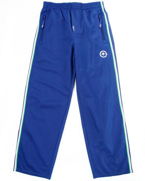 LRG Boys Blue Hardballers Track Pants (8-20)