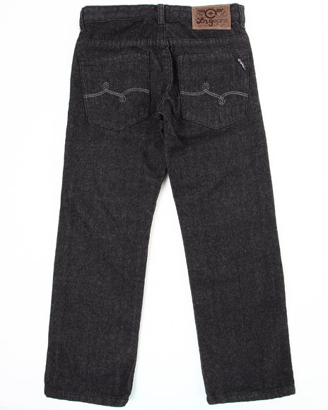 LRG - Boys Black Naturalist Straight Fit Jean (8-20)