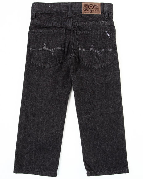 LRG - Boys Black Naturalist Straight Fit Jean (4-7)