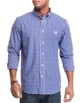Chaps - Collection L/S Check-Custom Fit Button Down Shirt