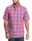 Chaps - Ossabow S/S Plaid Shirt