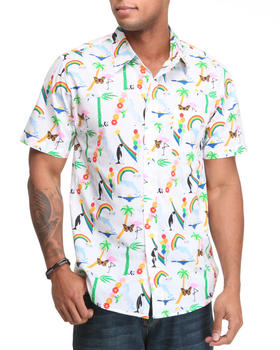 Enjoi - Saved! S/S Button-down