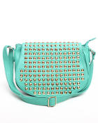 Fashion Lab - Shine Studded Handbag