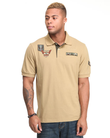 - G-Force Military Pique Polo