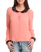 Long-Sleeve - Chiffon Long Sleeve top