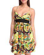Women - Abstract Print Dress