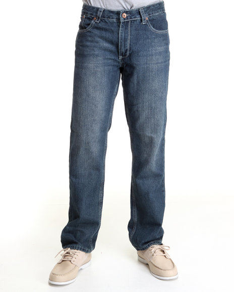 Basic Essentials Men Blue Tom Basic Jeans
