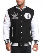 Adidas - Brooklyn Nets classic Varsity Jacket
