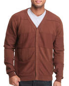 Men - Classic Cardigan w/ contrast trim