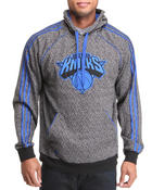 Men - New York Knicks Static Pullover Hoodie