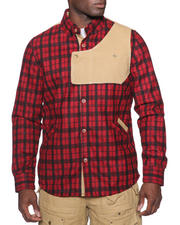Men - Urbaneer Flannel Button-Down Shirt Jacket
