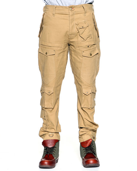 Pants with Leather for Men