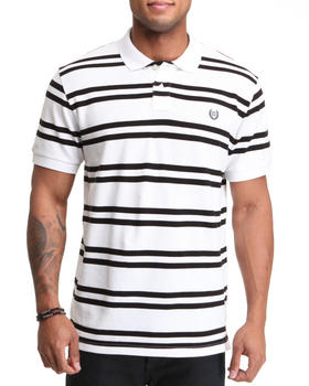Chaps - Georgetown Custom Fit Stripe Polo