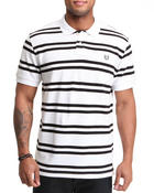 Men - Georgetown Custom Fit Stripe Polo