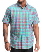 Men - CHarleston S/S Plaid Shirt
