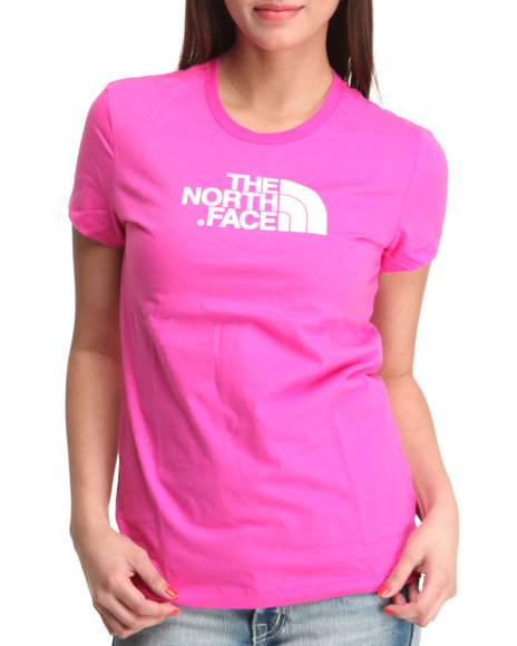 The North Face Women Pink Half Dome Tee