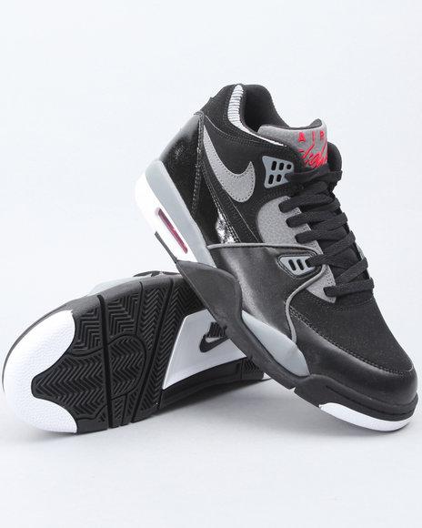 Nike Men Black Air Flight 89 Sneakers