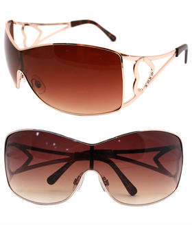 XOXO - Heart Cut Out Temples Sunglasses