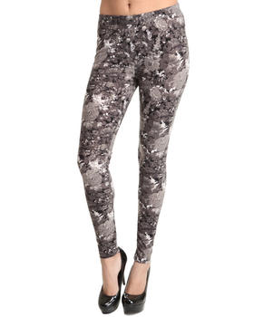 Basic Essentials - Floral Print Leggings