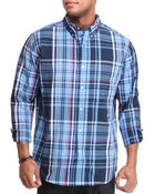 Men - SeaBrook L/S Plaid Button Down