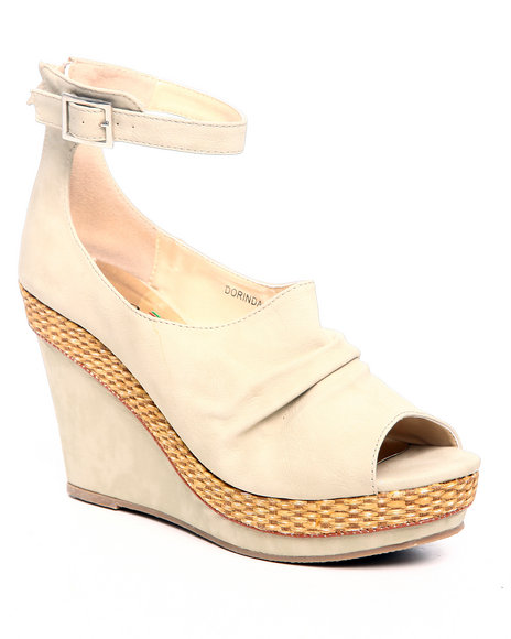 Fashion Lab Beige Wedges