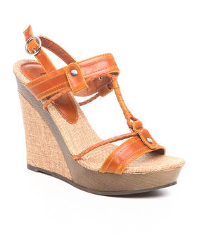 Fashion Lab - Braided wedge sandal