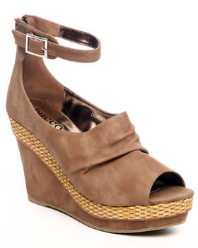 Fashion Lab - Dorinda wedge w/ankle strap