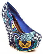 Footwear - Ceres printed wedge