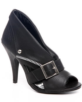 Fashion Lab - Midnight Vixin peep toe pump