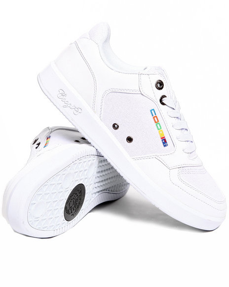 Coogi Men White Knockout Lowtop Sneaker