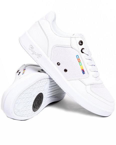 COOGI Men White Knockout Lowtop Sneaker