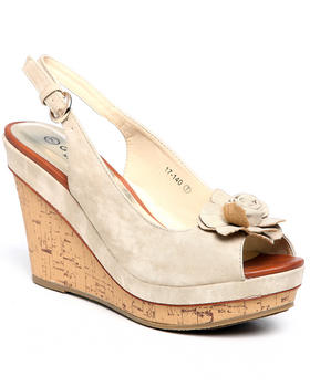 Fashion Lab - Cork Screw Wedge