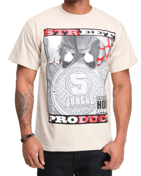 5Ive Jungle Men Khaki Street Product Tee