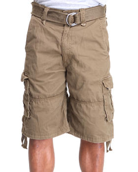 Buyers Picks - HeavyWeight Belted Twill Cargo Shorts